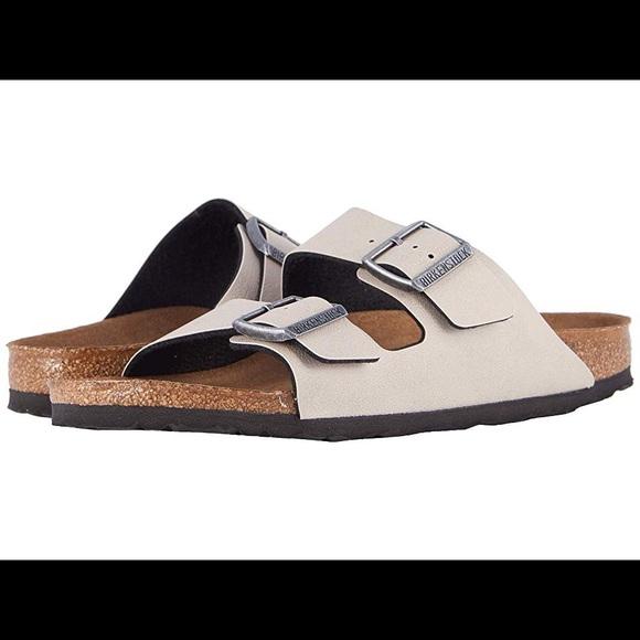 birkenstock women's arizona vegan sandals